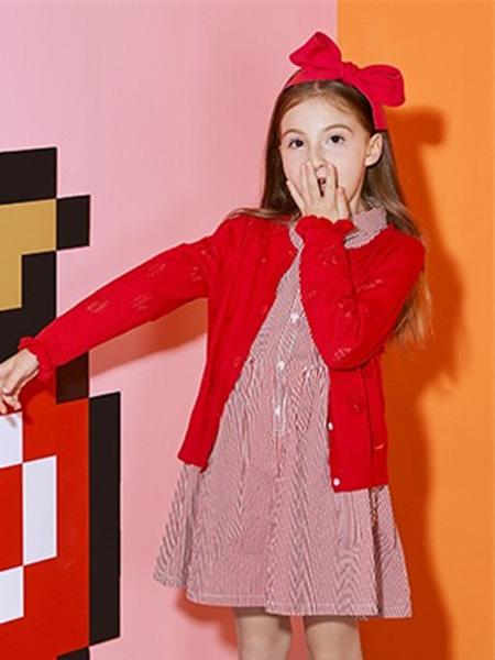 安奈儿童装品牌2019秋冬开衫外套