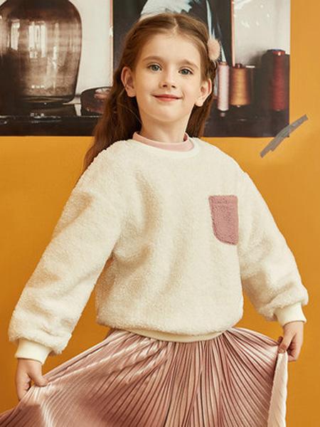 gxg.kids童装品牌2019秋冬加绒卫衣