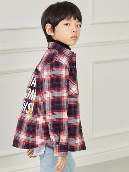 gxg.kids童装品牌2019秋冬格子衬衫