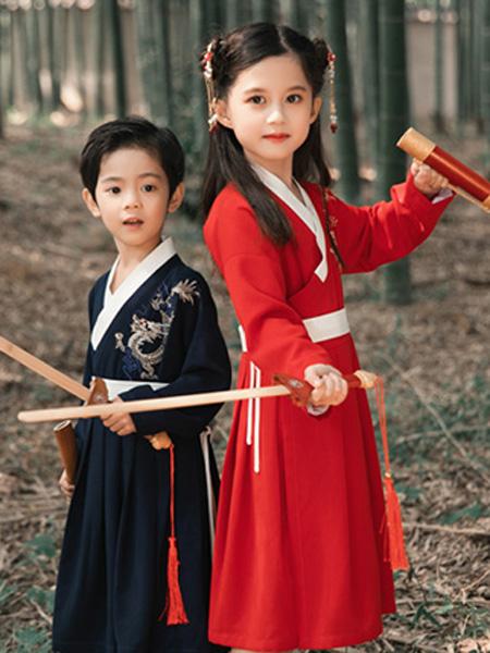 衿古文化童装品牌2019秋冬古装