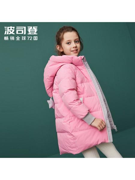 波司登童装童装品牌2019秋冬女童中长款羽绒服