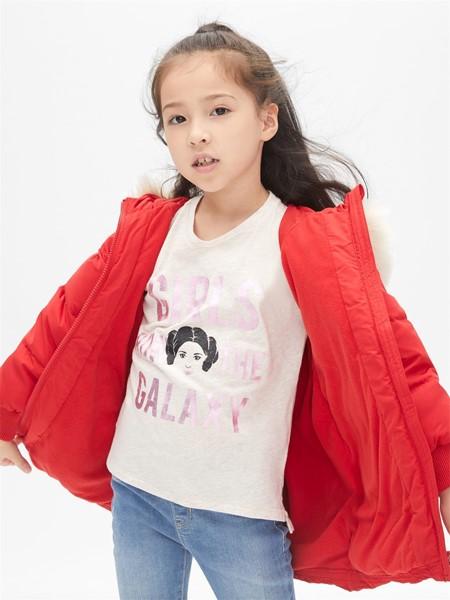 GAP童装品牌2019秋冬加绒羽绒服