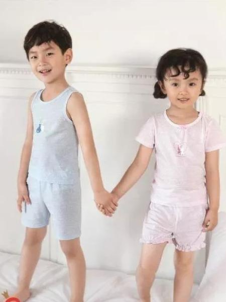 卡丹儿童内衣童装品牌2019新款家居睡衣