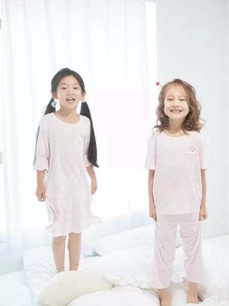 卡丹儿童内衣童装品牌2019新款纯棉睡裙睡衣套装
