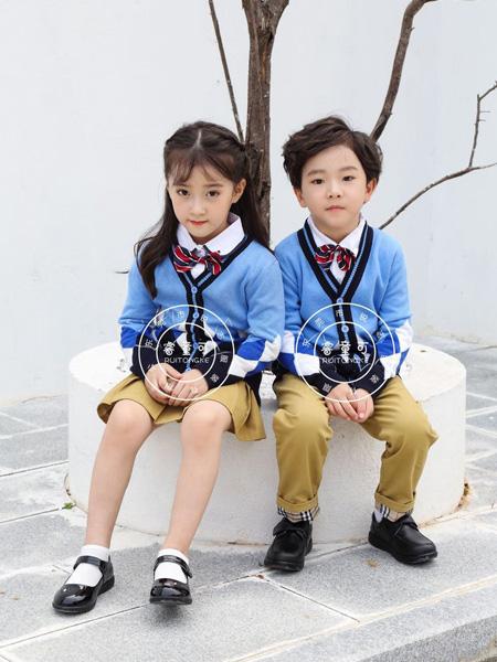 睿童可童装品牌2019秋冬儿童男女款校服