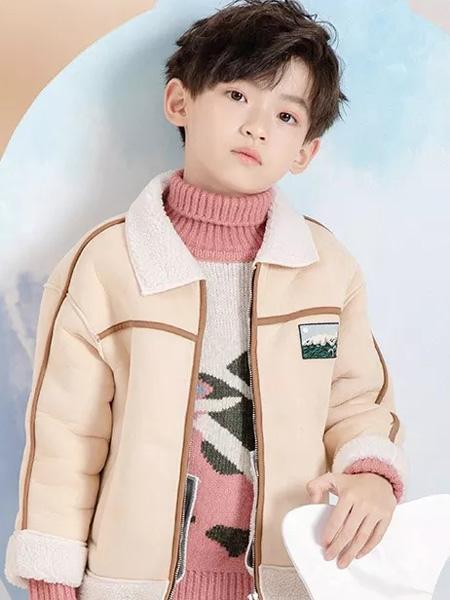 德蒙斯特童装品牌2019秋冬新品加绒夹克