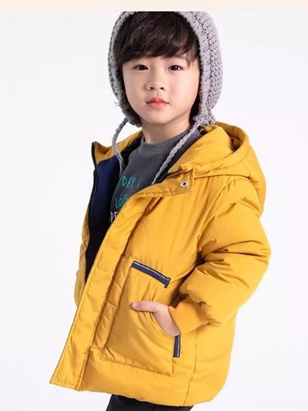 德蒙斯特童装品牌2019秋冬新品新款保暖羽绒服