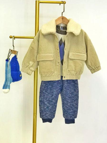 赵蜀黍童品童装品牌2020秋冬灯芯绒外套