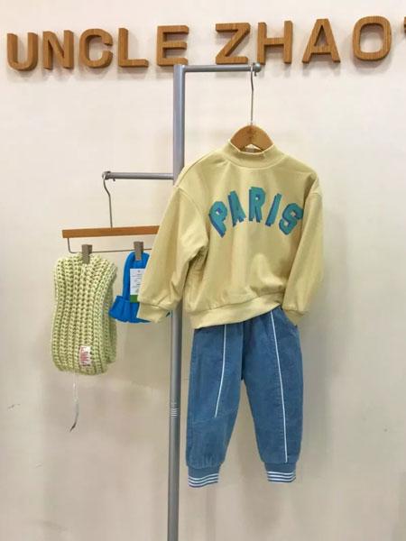 赵蜀黍童品童装品牌2020秋冬灯芯绒T恤