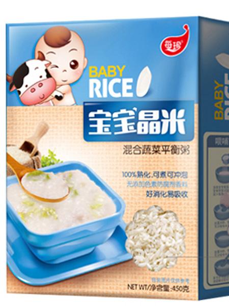 每珍婴儿食品宝宝晶米
