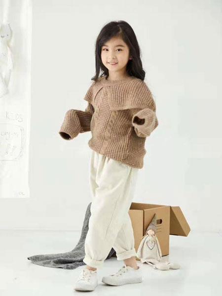 DC童装童装品牌2019秋冬针织上衣潮童时尚