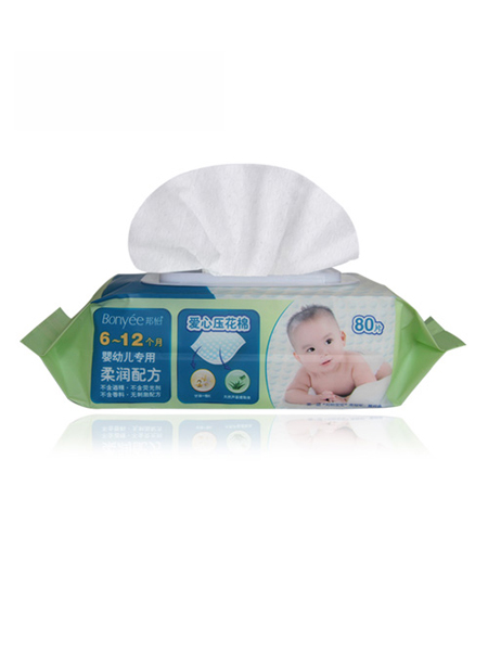 小植家湿巾婴童用品6-12个月柔润配方80片装