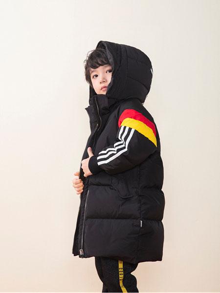 DIZAI童装品牌2019秋冬男款羽绒大衣