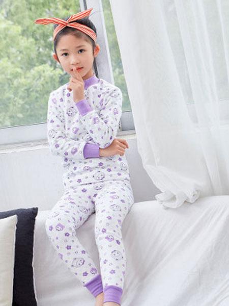 新款纯棉儿童棉毛套装3-16岁秋衣秋裤宝宝内衣睡衣