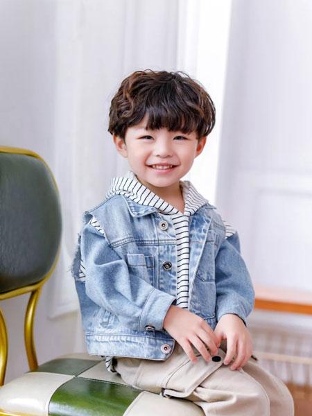 早言zaoyan 童装品牌2020春夏牛仔外套 百搭个性牛仔