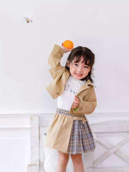 早言zaoyan 童装品牌2020春夏西装套裙