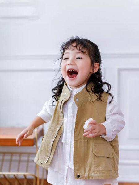 早言zaoyan 童装品牌2020春夏西装小马甲 韩版