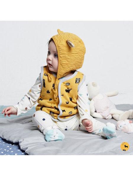 ALFONSO童装品牌2019秋冬婴儿卡通连体衣