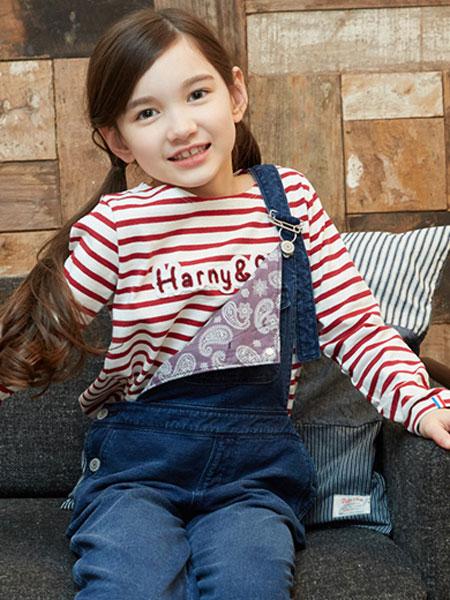 Harny&Son童装品牌2019秋冬圆领长袖T恤