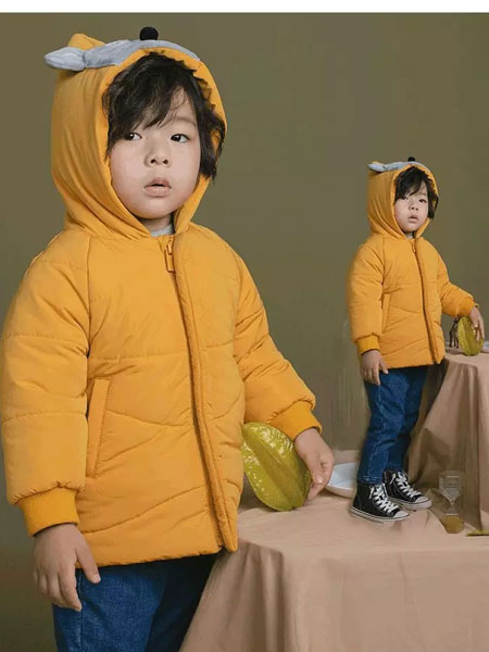恰贝贝童装品牌2019秋冬羽绒服系列 纯棉小老鼠