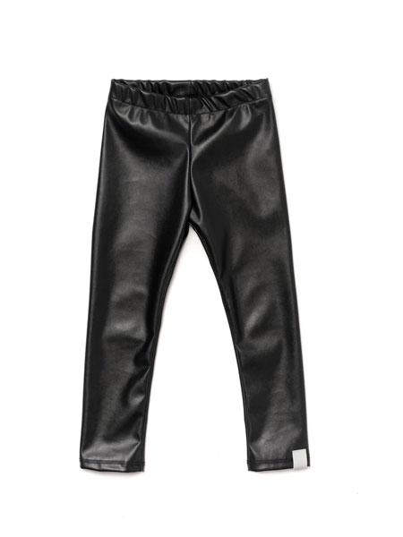 OMAMIMINI童装品牌2020春夏新款皮质长裤