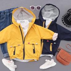 LINE·MALIN童装品牌2020春夏儿童春款外套 男童洋气夹克中小童韩版刺绣风衣