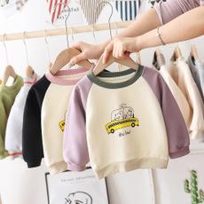 2020春季新款宝宝儿童卡通纯棉打底衫2020春装新款男童纯棉卫衣