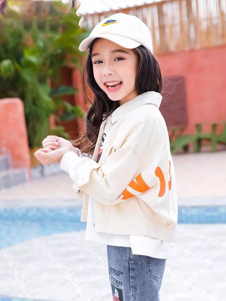 思贝秀 SIBEIXIU童装品牌2020春夏新款印字外套