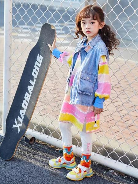 小资范童装品牌2020春夏新款牛仔马甲