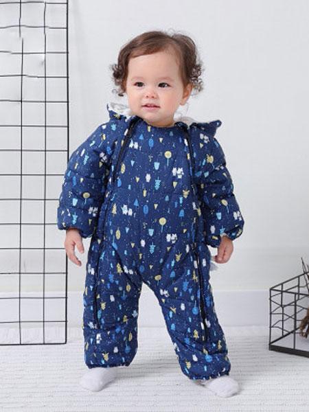 婴儿羽绒服宝宝冬装儿童轻薄羽绒服婴幼儿保暖外套双面穿连帽衣服