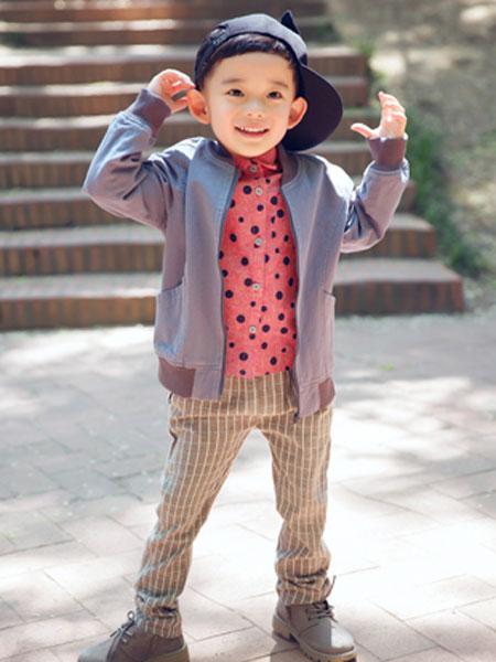 mini petrel童装品牌2020春夏新款纯色长袖外套