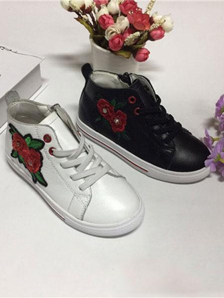 蓝猫童鞋品牌2019秋冬时尚儿童皮鞋