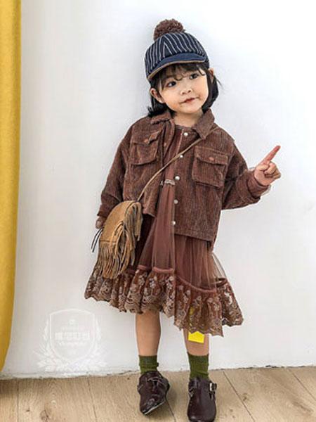 维尼叮当童装品牌2020春夏新款纯色夹克
