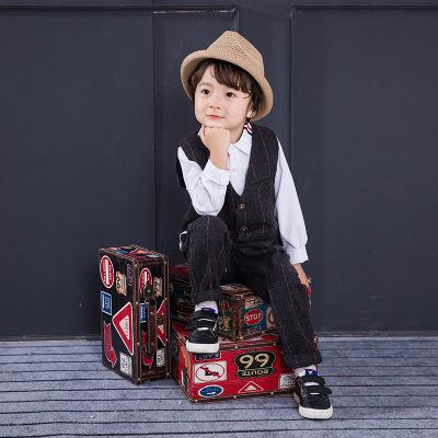 泰亚格童装品牌2019秋冬小西服英伦礼服钢琴演出服