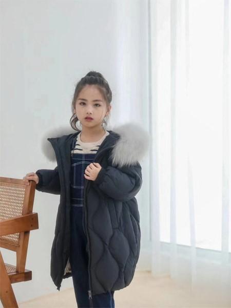 啄木鸟童装品牌2020冬季新品轻薄羽绒服外套