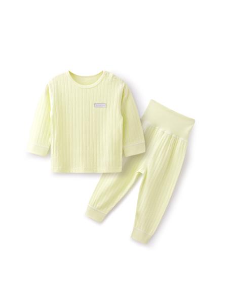 金贝达童装品牌2019秋冬婴儿内衣纯棉套装