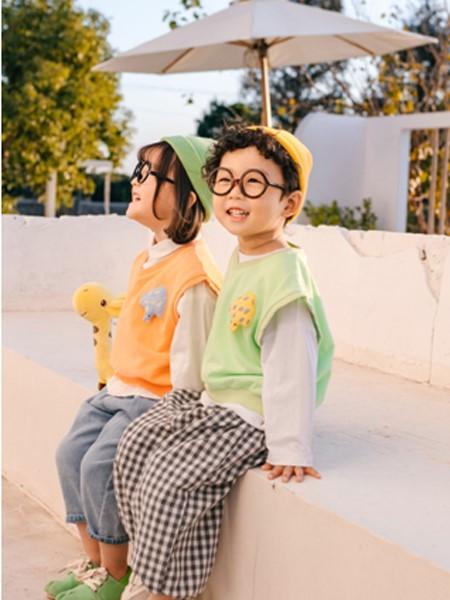 可米e家童装品牌2020春夏时尚背心马甲