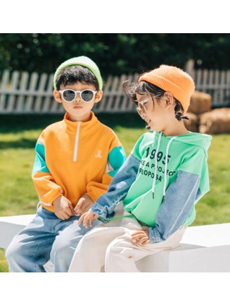 可米e家童装品牌2020春夏休闲运动装外套