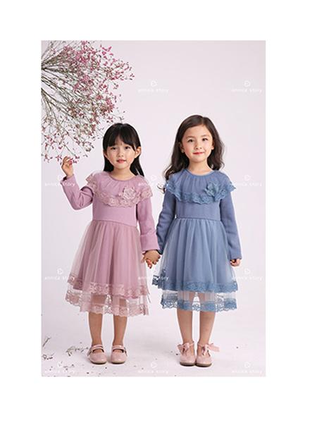Annica艾尼卡童装品牌2020春夏时尚公主裙