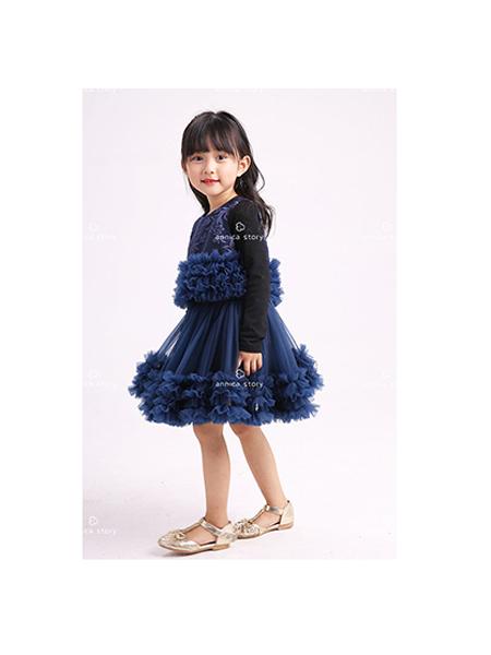 Annica艾尼卡童装品牌2020春夏纱裙蓬蓬裙