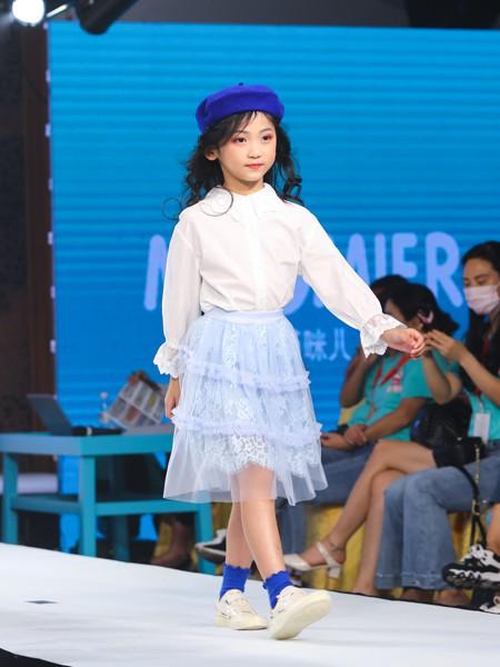 Maomier�咪�和��b品牌2020春夏新款�色透�裙子套�b