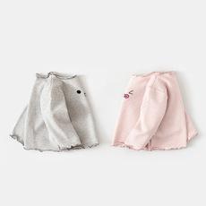 啊咪啦Amila童装品牌2019秋冬婴儿长袖秋装幼儿长袖条纹T恤