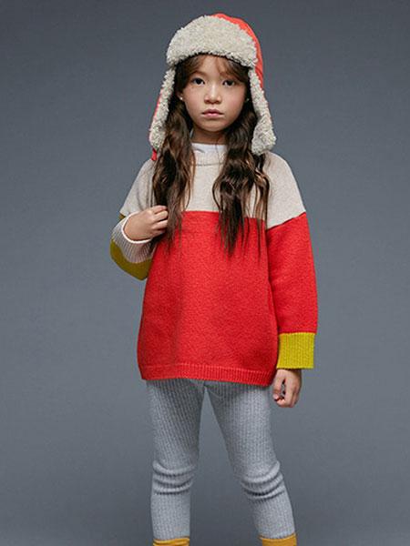 Roanjane童装品牌2019秋冬大块针织-2color