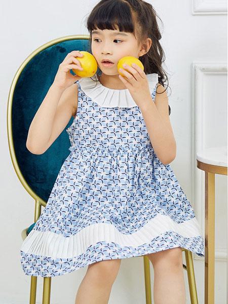 V-rules童装品牌2020春夏新款纯色长袖透纱公主裙