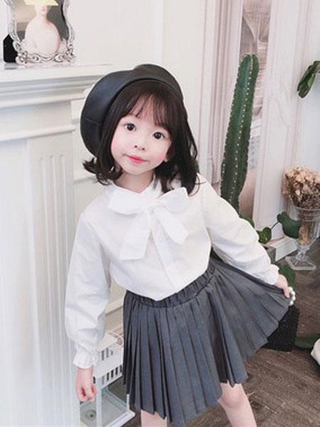 果果熙童装品牌2020春夏女童韩版宽松卫衣儿童中长款卫衣裙休闲童装