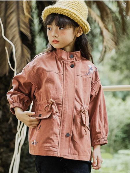 V-LOVE (唯乐儿)童装品牌2020春夏新款纯色纽扣夹克