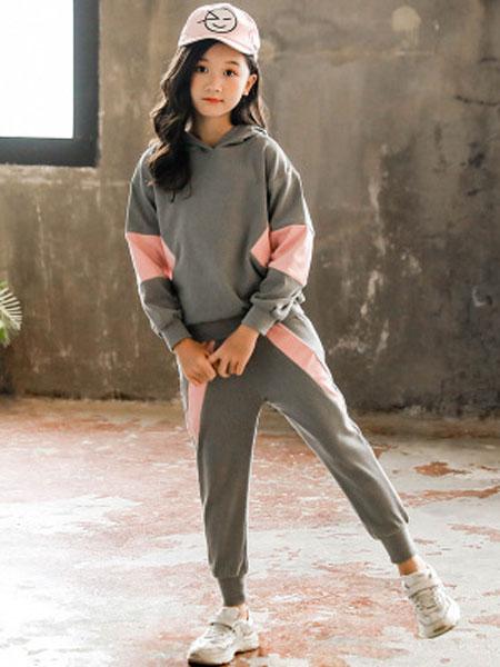 花样童依童装品牌2020春夏韩版中大童休闲裤运动两件套儿童春秋衣服潮