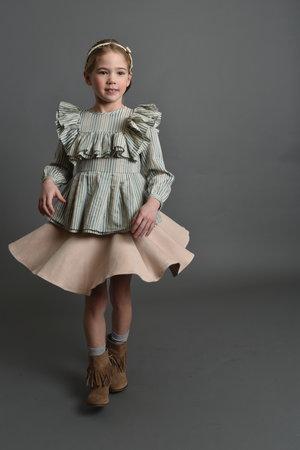 Moque童装品牌2020春夏erin女式衬衫