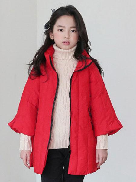 女童棉衣冬装2019新款小女孩洋气秋冬棉服外套儿童棉袄韩版中大童