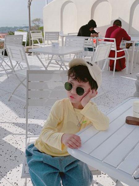 眯眯眼童装品牌2020春夏男童灯芯绒衬衫宝宝休闲纯色上衣